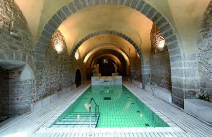 Baños de Montemayor piscina