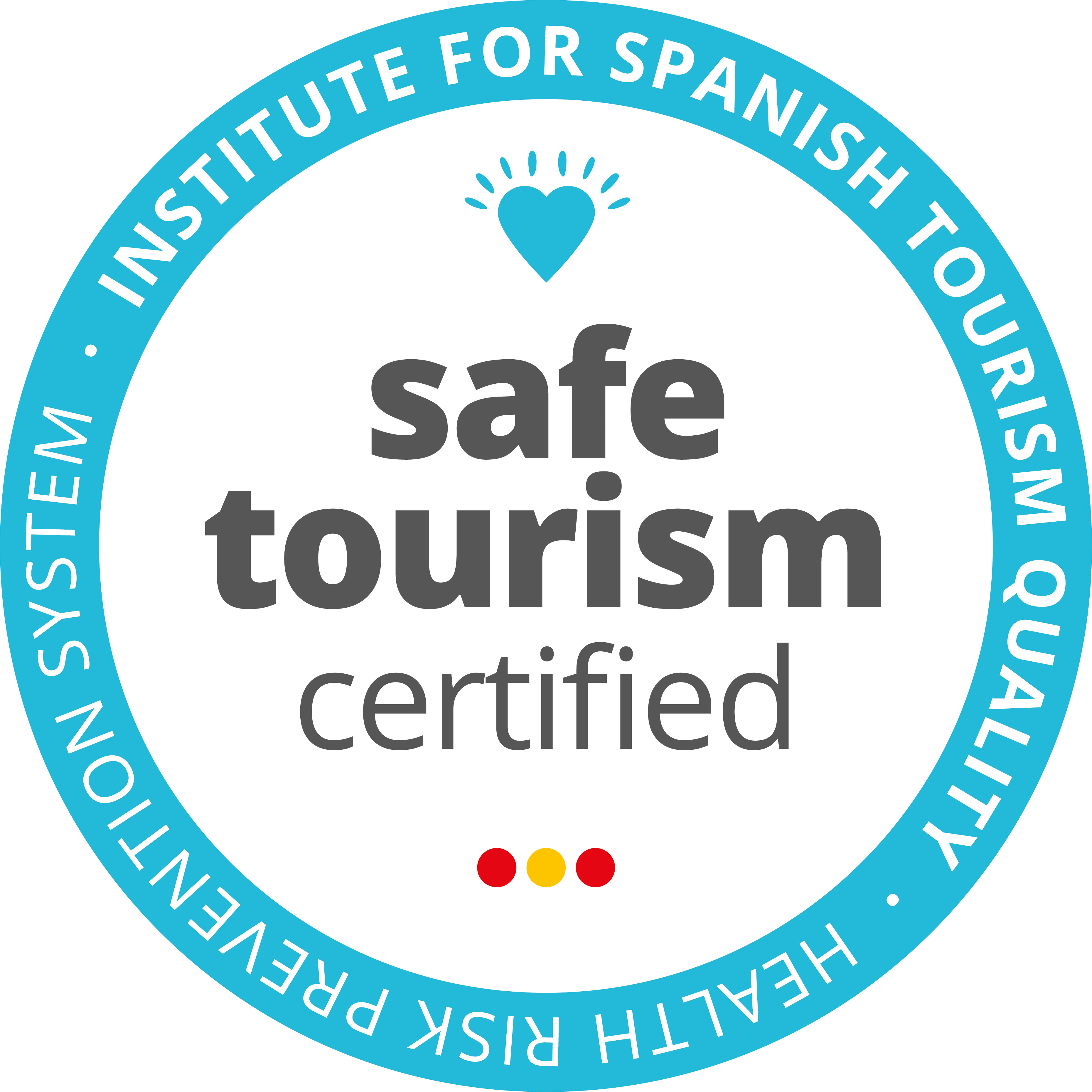 Sello Safe Tourism Certified